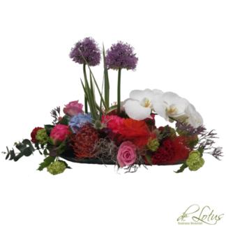 Bloemstuk Lila Allium