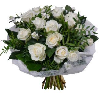 Boeket White Roses