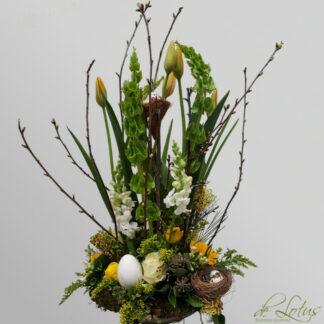 Afbeelding van paas bloemstuk Pasko